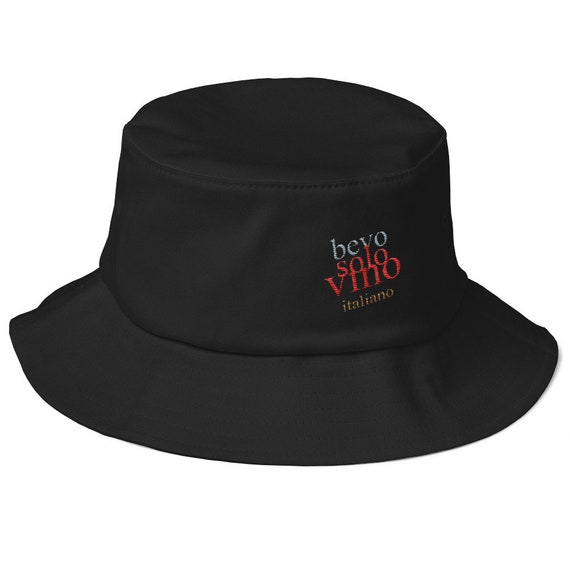"Bevo"" Old School Bucket Hat by Tettallatte"