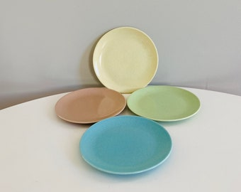 Mid Century Modern Monterey California Speckled Pastel Dinnerware 29 piece set