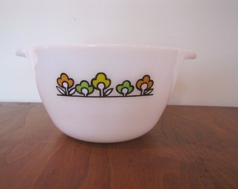 Anchor Hocking, Fire King Summerfield Mixing Bowl, Vintage Fire King Bowl