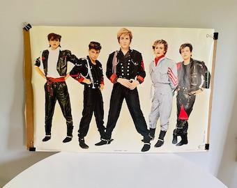 Vintage Duran Duran Poster, New Old Stock, Anabas Poster, Original Duran Duran 1982 Poster, 1980s Duran Duran Souvenir, 80s Pop Poster