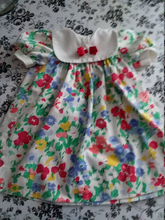 Vintage Jan Briggs children's dress