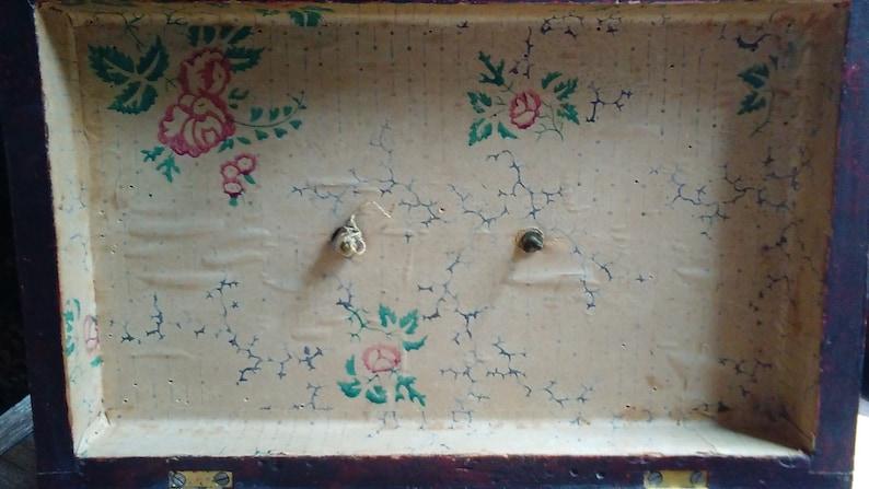 1830 Grain Painted Document Box.