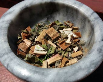 Divination Herbal Blend, Loose Incense, Herbal Incense, Dried Herbs, Witchcraft, Witch, Ritual Herbs, Natural Herbs, Witch Supplies