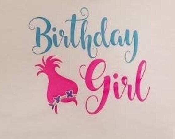 Trolls Birthday Girl Shirt