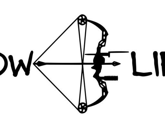 Bow Life  Hunting Decal For Trucks and Dog Boxes