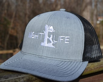 145e5dc2 Richardson Snapback Night Life Coon Hunting Mesh Trucker Hat