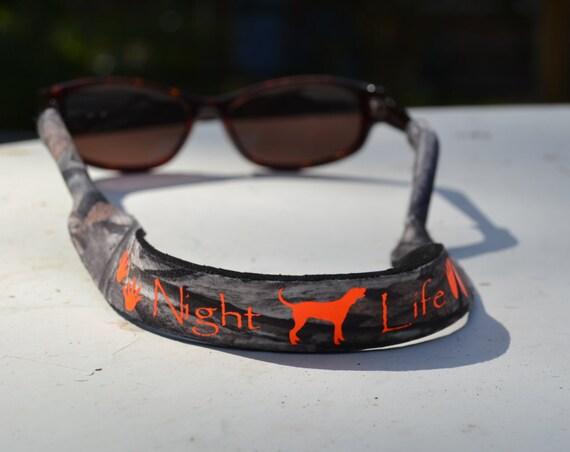 Mossy Oak Treestand Camo Coon Hunting Sunglasses Strap croakies