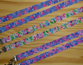 Lily Inspired Collection Face Mask Lanyard Adjustable Strap for Face Coverings