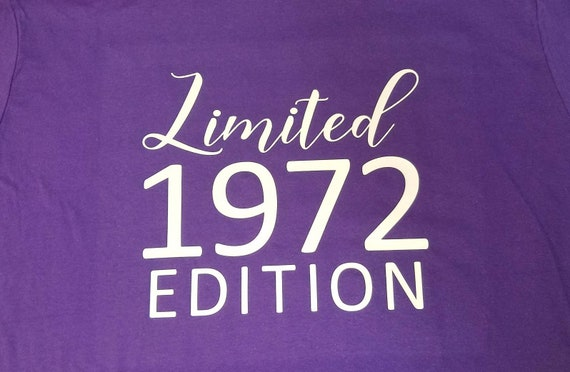 Birthday Limited Edition Any Year T-Shirt