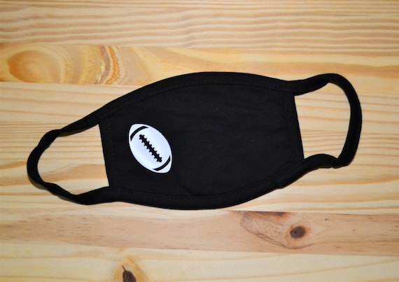 Football Youth or Adult Soft Washable Face Mask