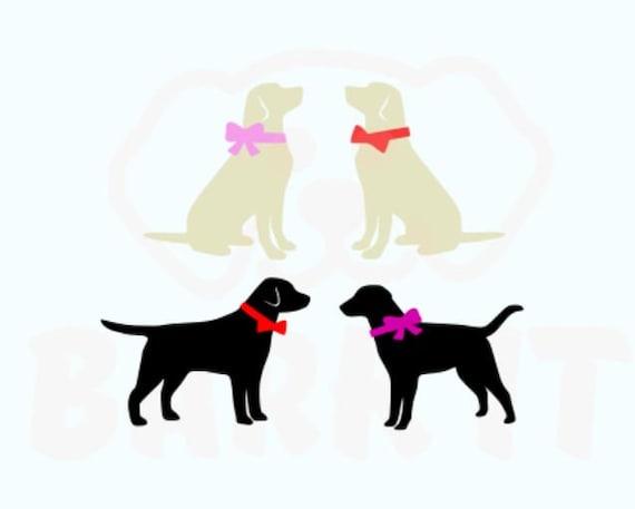 Labrador Retriever Dog SVG, PDF, PNG, eps, Digital Download Cut File for decal tshirt Black Lab Yellow Lab Chocolate Lab