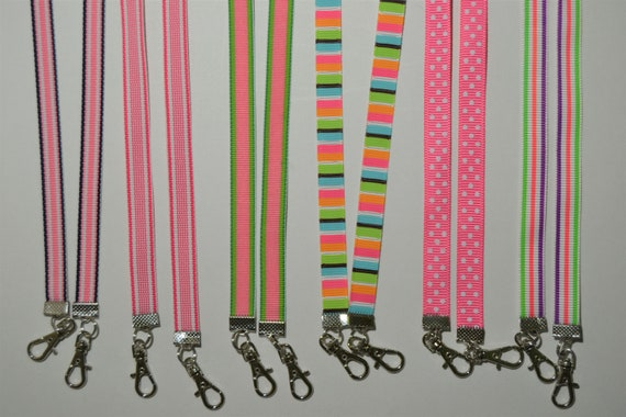 Pink Collection Face Mask Lanyard Adjustable Strap for Face Coverings