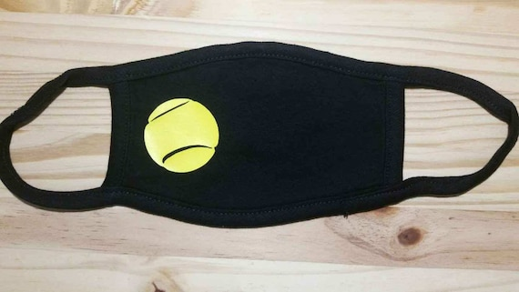 Tennis Youth Soft Washable Face Mask