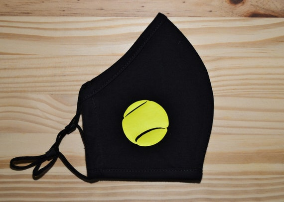 Tennis Adult Soft Washable Face Mask