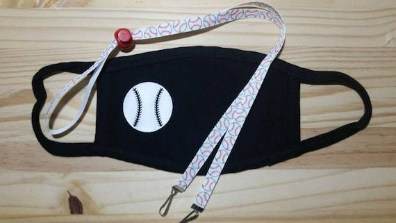 Baseball Youth Soft Washable Face Mask