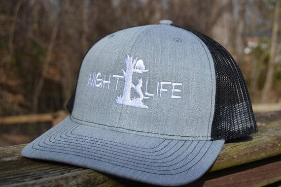 Night Life Coon Hunting Richardson Snapback Mesh Trucker Hat