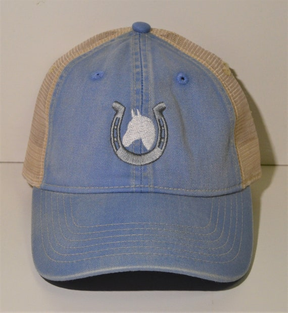 Horse Unstructured  Mesh Hat Youth and Adult