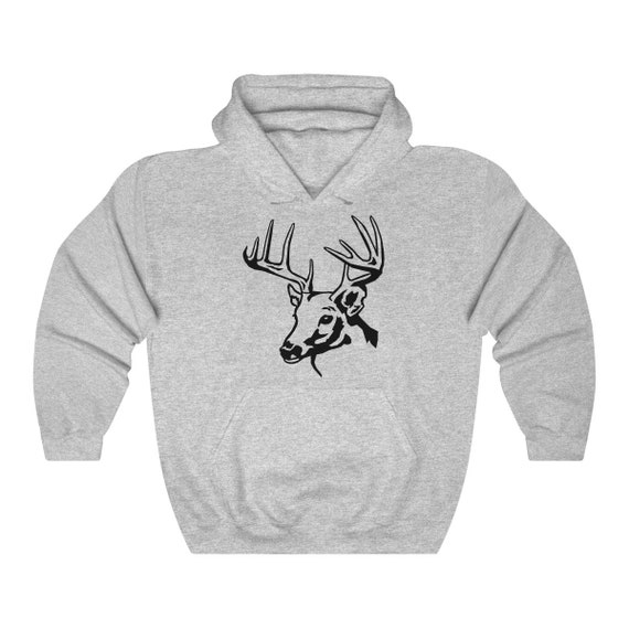 Deer Unisex Heavy Blend Hooded Sweatshirt