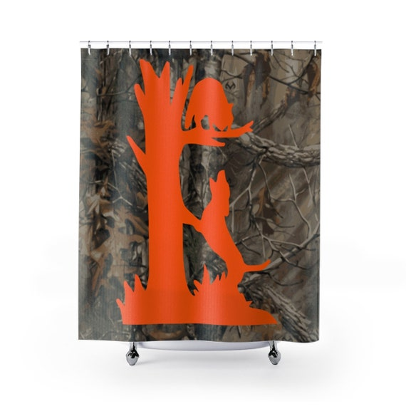 Coon Hunting Shower Curtain