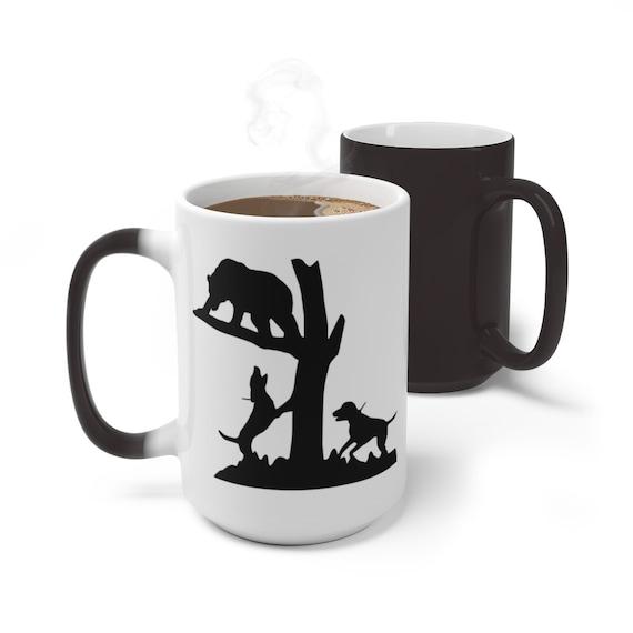 Bear Hunting Color Changing Mug