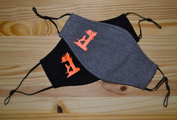 Coon Hunting Soft Washable Adult or Youth Face Mask