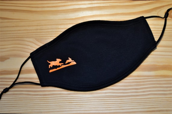 Rabbit Hunting Soft Washable Adult or Youth Face Mask