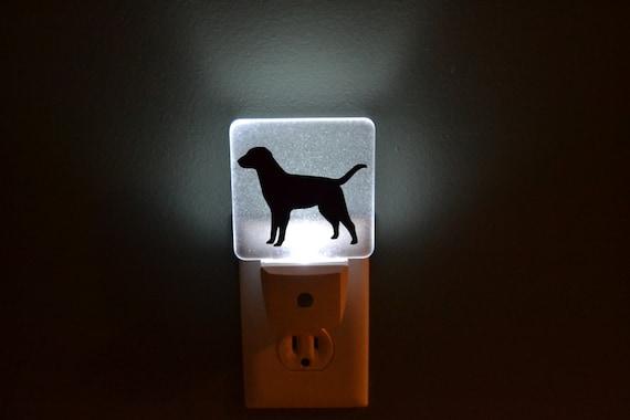 Dog Black Lab Night Light