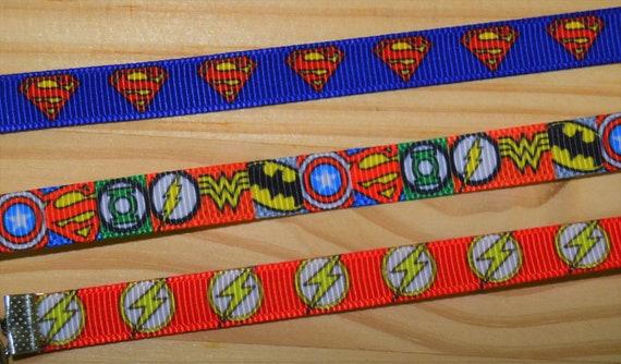 Super Hero Comic Mask Lanyard Adjustable Strap for Face Coverings Superman Batman Avengers Flash
