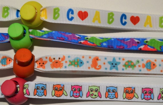 Kids Collection Face Mask Lanyard For Kids Adjustable or Breakaway Strap for Face Coverings
