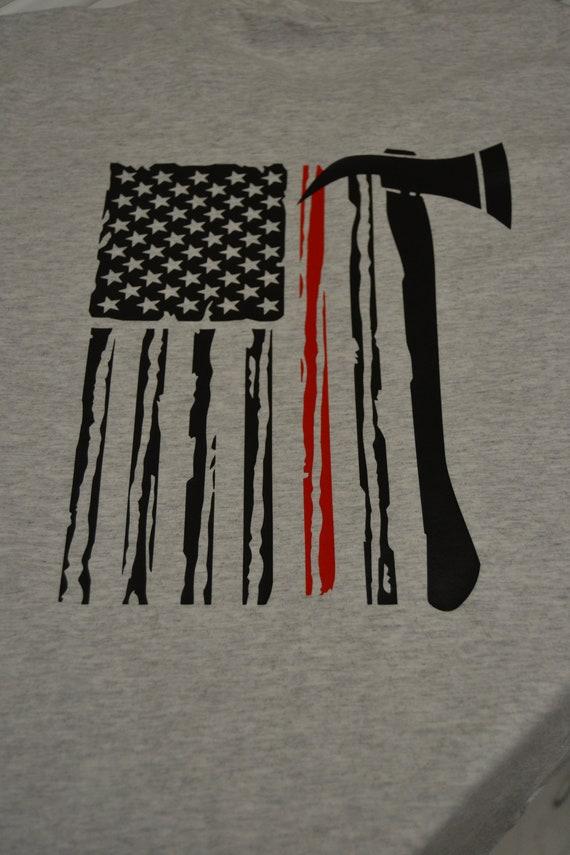 Fire Fighter Flag Shirt