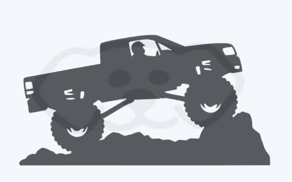 Monster Truck SVG, PDF, PNG, eps, Digital Download Cut File for shirts, Birthday, Signs