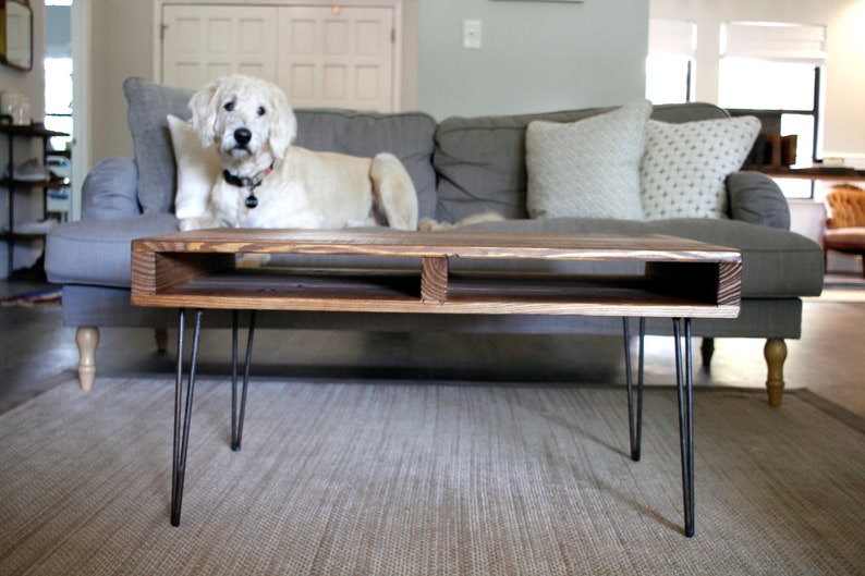 Handcrafted Reclaimed Wood Pallet Coffee Table Furniture Etsy