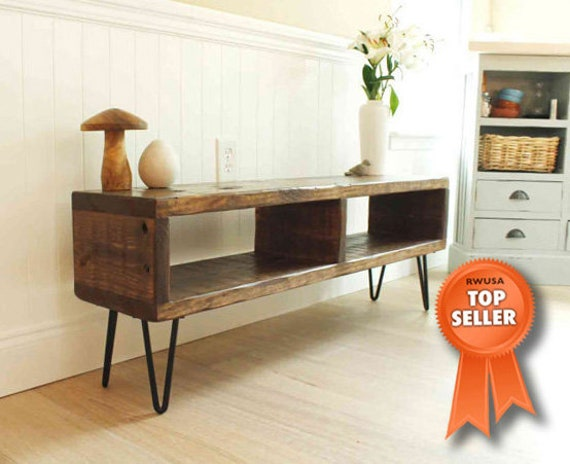Reclaimed Wood Entertainment Center Rustic Tv Stand Etsy