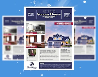 realtor flyer etsy