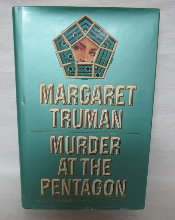 Murder At The Pentagon by Margaret Trumn 1992 Hardcover Capital Crimes Series Book 11