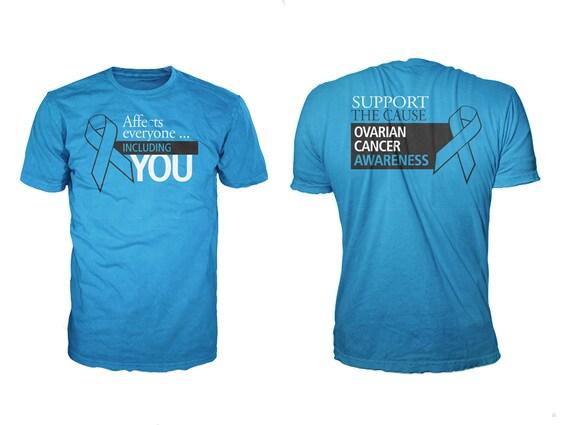 Fund Raising Item Men Ovarian Cancer Awareness Customized Etsy