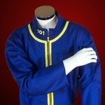 Lone Wanderer Vault Dweller Coveralls - Male Suit