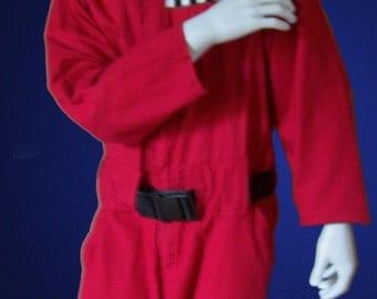 "Red Coveralls / Gizmonics Jumpsuit (Ver 1) - ""Joel"""