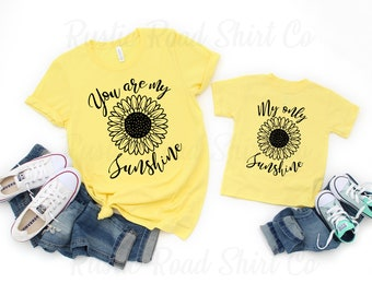 Mommy and Me Shirts  Mom and Daughter Matching  Mamas Girl  Son Daughter Mom Shirt  Mama Mini  Gift for Mom  PeachWhite 238990
