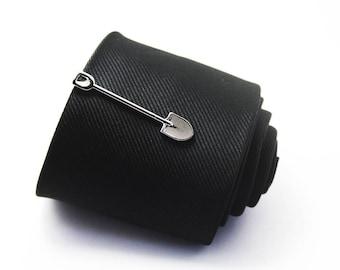 Shovel Tie Clip, Classic Tie Clip, Silver Tie Clip, Novelty Accessories, Gift For Man