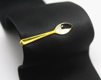 The Spoon  Tie Clip, Silver Accessories, Novelty Accessories, Gift For Man
