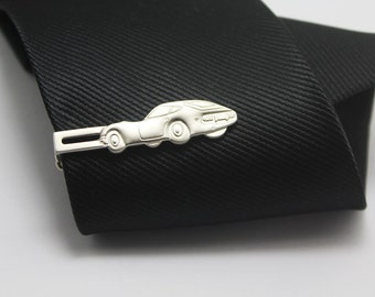 Sports car Tie Clip, Silver Accessories, Novelty Accessories, Gift For Man