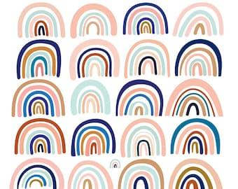 Rainbow clipart Rainbow svg Rainbow digital Rainbow vector Baby clipart Instant download Png printable Digital print Downloadable print