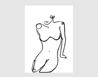 black and white art etsy