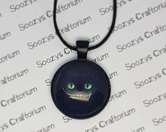 Cheshire Cat Pendant Necklace