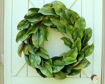 Fall Wreath ~ Magnolia Wreath ~ Door Wreath ~ Wedding Decor ~ Modern Farmhouse ~ Farmhouse Decor ~ Home Decor ~ Gift for Her