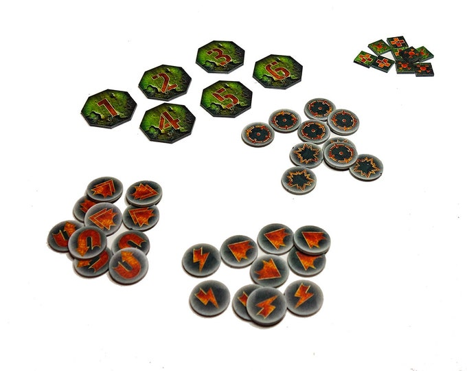 Featured listing image: Kill Teams 46 Tokens Set plague