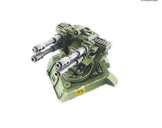 Featured listing image: Warhammer bitz vehicule upgrade Hoplite Twin Flak Cannon