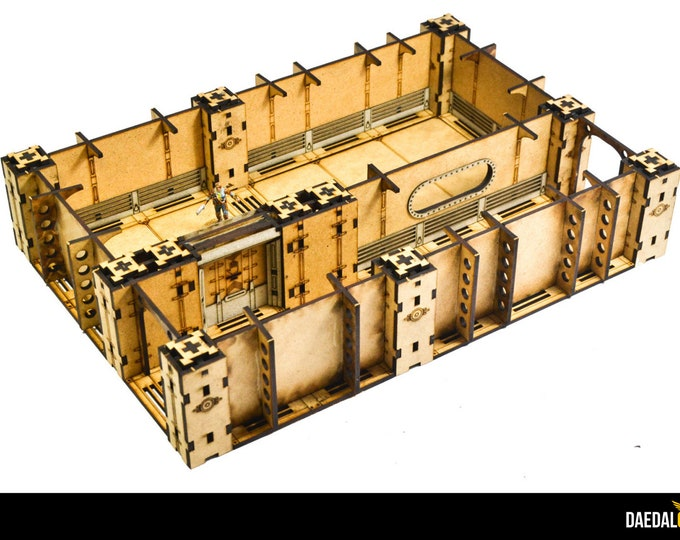 Featured listing image: Fallout wasteland warfare terrain room D infinity space hulk Warhammer Necromunda