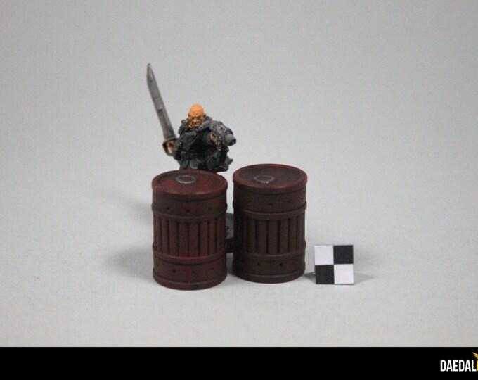 industrials barrels for tabletop game like warhammer necromunda fallout gaslands